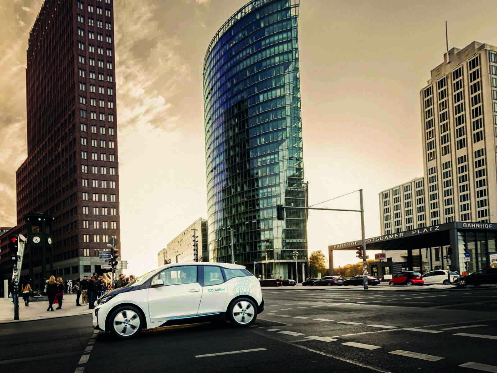 BMW i3-Carsharing-Erfolg von DriveNow: Urbane Mobilität mit Premium-Fahrzeugen von BMW und Mini; Foto: DriveNow