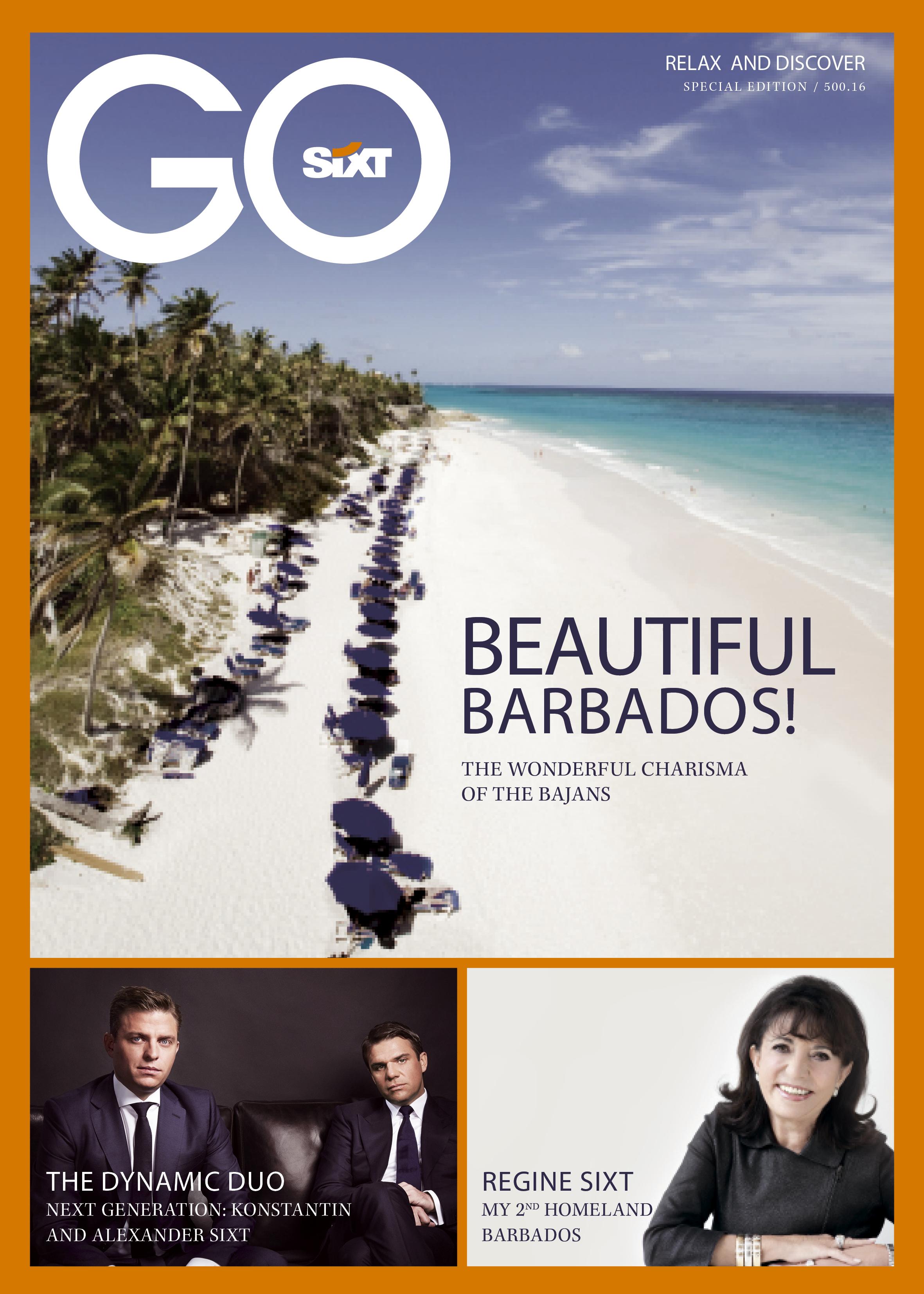 GoSixt Special Edition Barbados 2016