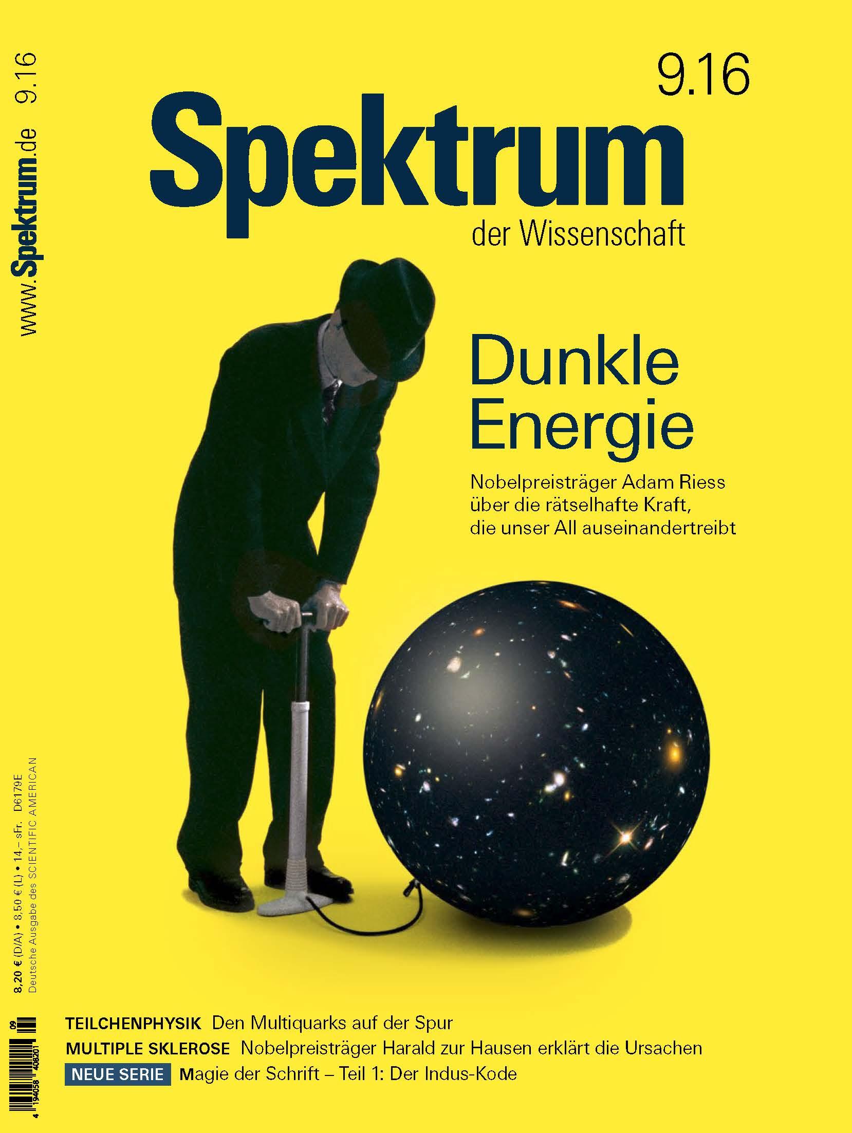 "Cover Relaunch ""Spektrum der Wissenschaft"" 09.2016"